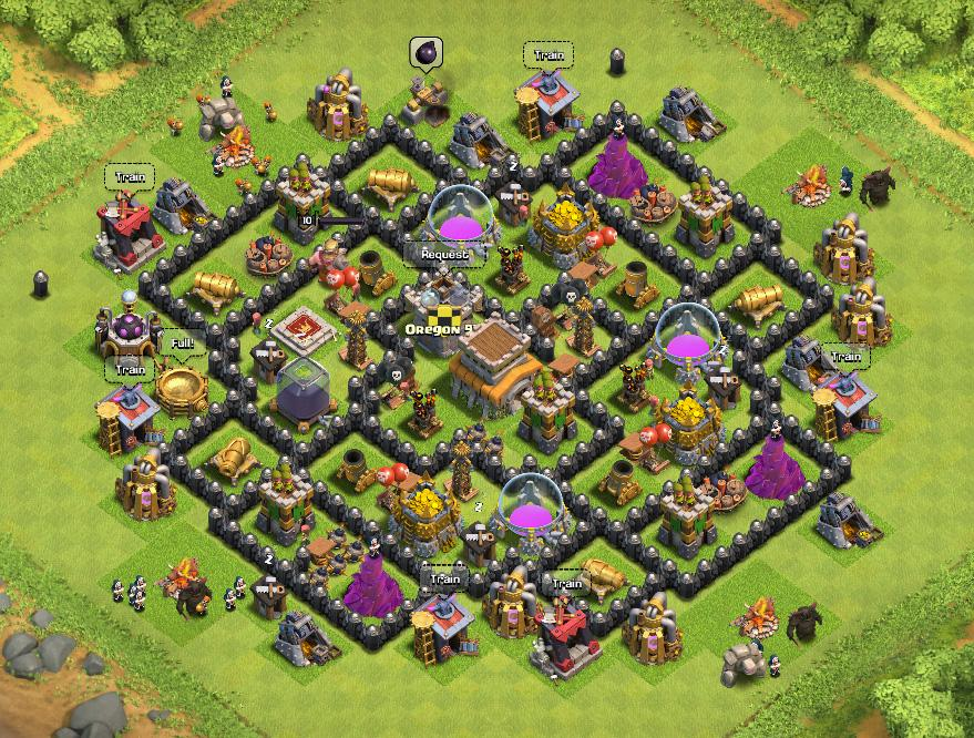 Defence Coc Th 8 Base 2