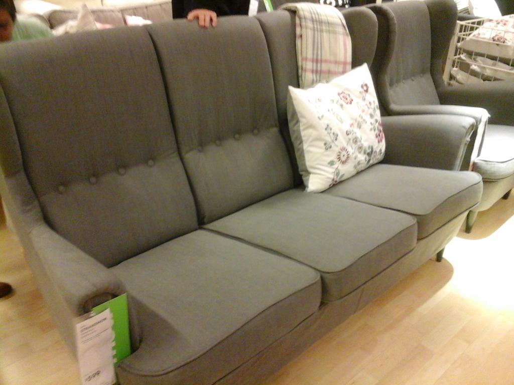 Ikea Stoughton On Twitter If You Like The Strandmon Chair You 39 Ll Love Our New Strandmon Sofa