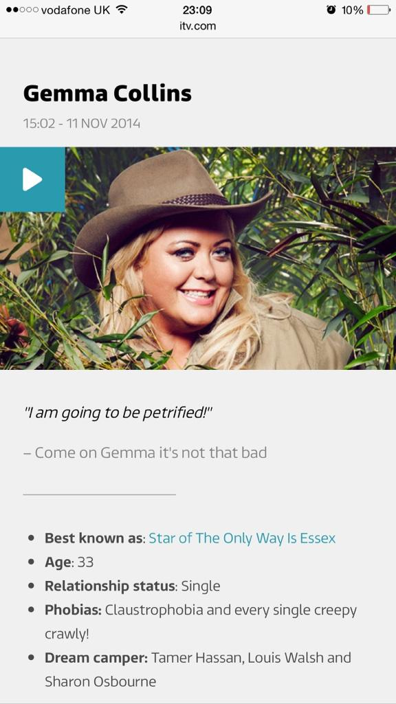Come on GC @missgemcollins ...! http://t.co/mECohROVg7
