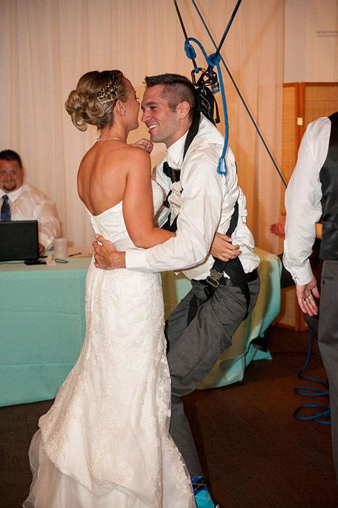 #ICYMI: A paraplegic veteran surprised his bride with a wheelchair-free first dance. WATCH: http://t.co/8j9QHtihhr http://t.co/kC6sqtKGlu