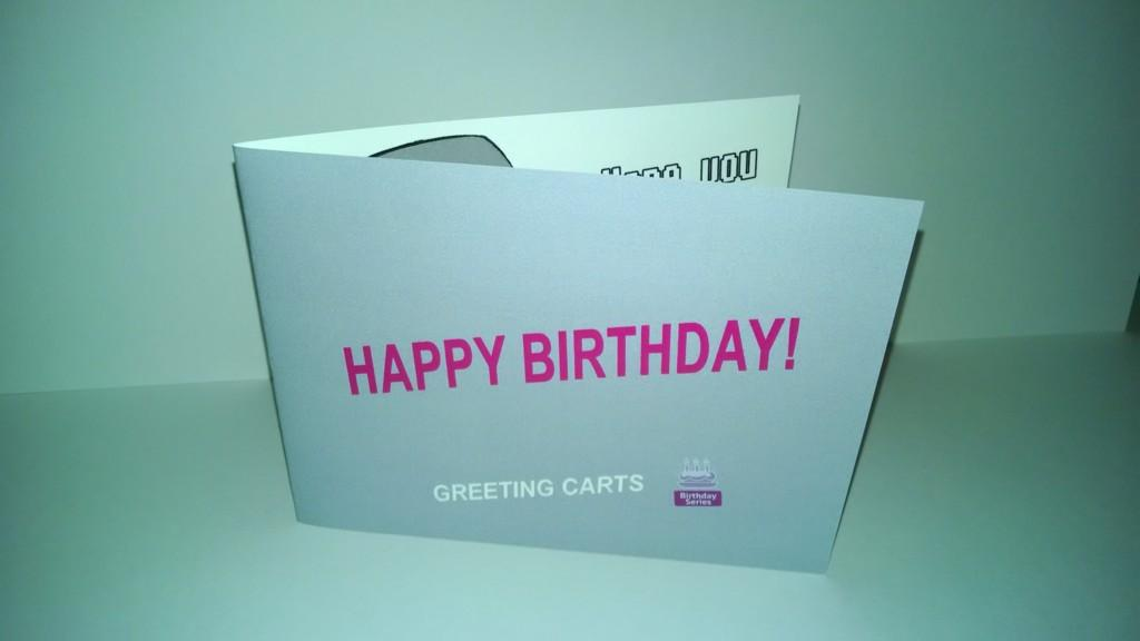Greeting Carts On Twitter The Coolest Birthday Card Ever