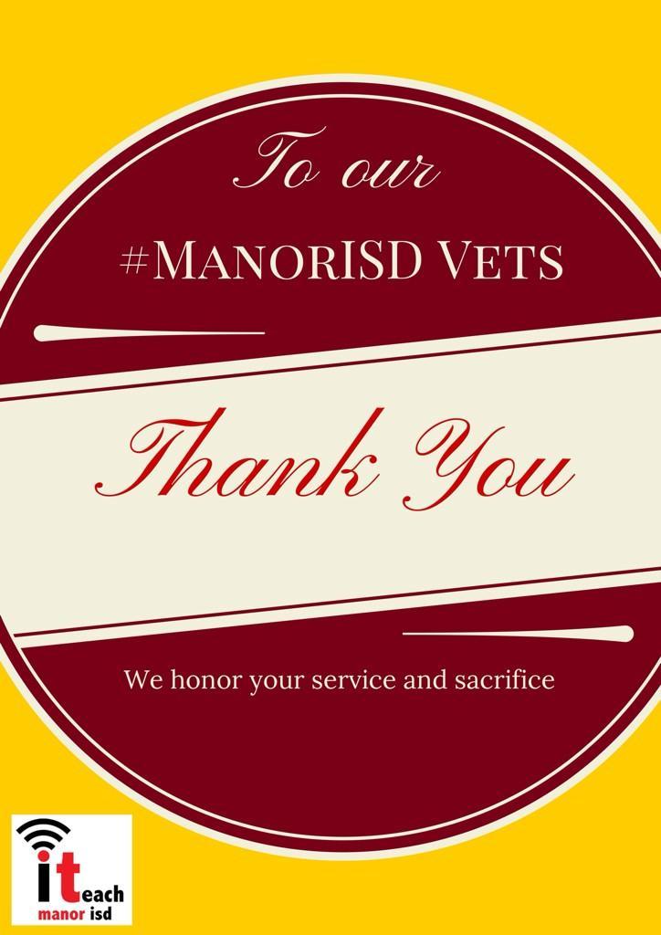 Thumbnail for #ManorISD Gives Thanks!