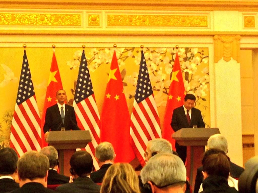 Major climate breakthrough: U.S. and China announce emissions cuts