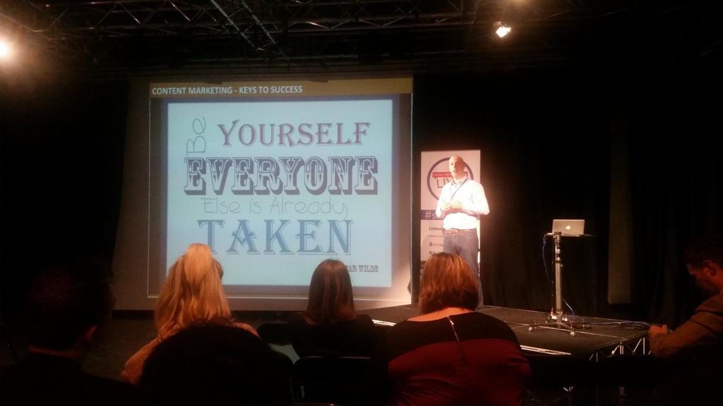 """You need to have a personality in social media"" @lbrynleyjones #smlondon http://t.co/Xaot0bQ9HU"