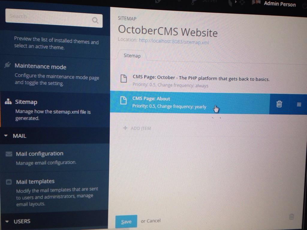 october cms on twitter define your sitemap xml file with a smile