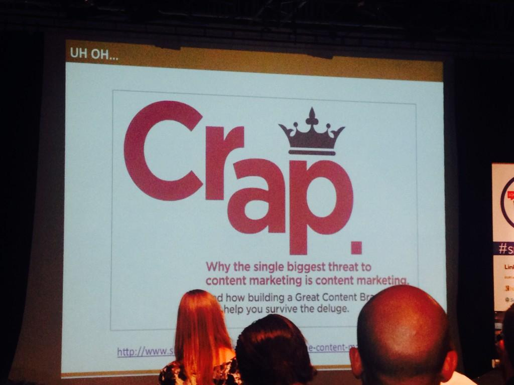 @lbrynleyjones 'The real threat to b2b content marketing.' #smlondon smlondon http://t.co/Vw67nTf8pj