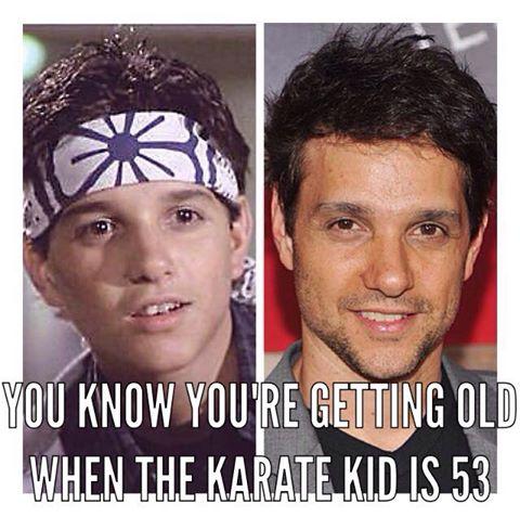 Doesn't make us feel old at all! Honest  #KarateKid #RalphMacchio http://t.co/DBMqpgGHbf