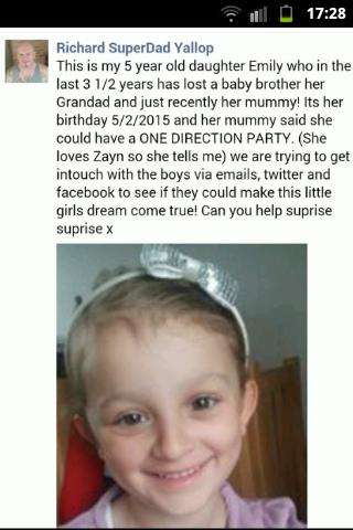 RT @janecoaker2610: @NolanColeen pls help @Emilys1Dream by rt @SimonCowell @onedirection thanku http://t.co/K4sliQVGOe