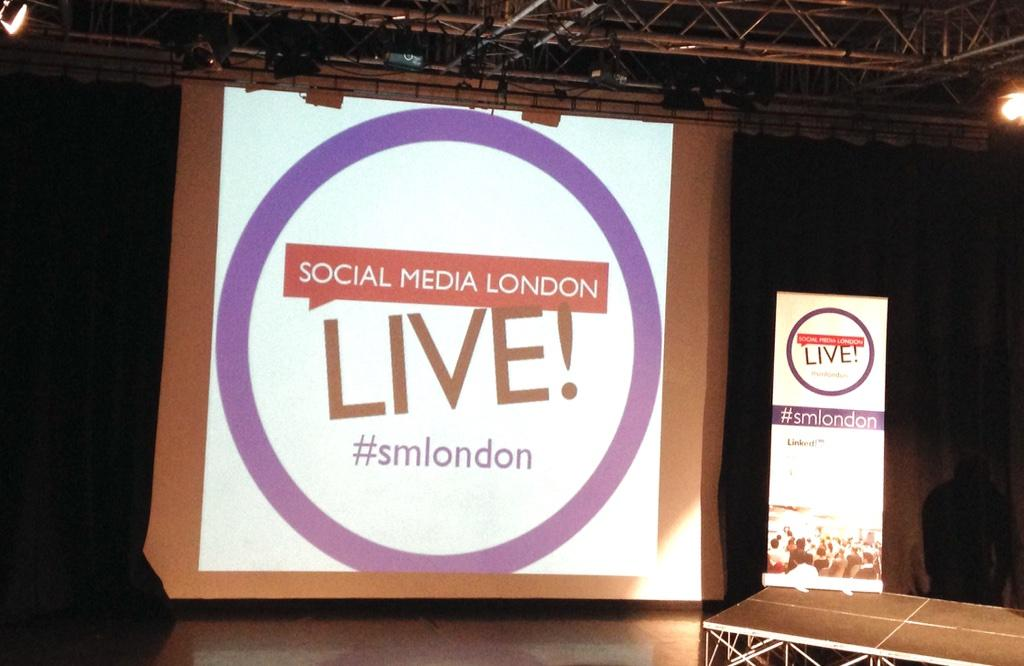 """Time for the first talk of the day at #SMLondon with @jeremywaite - """"There's No Such Thing As Big Data"""" http://t.co/QnTnCAJHaw"""