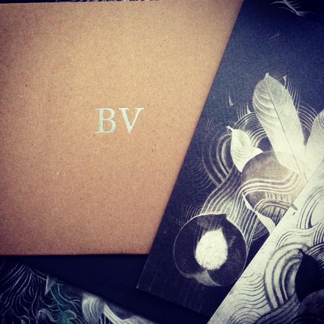 Black Vines CD and artwork postcards arrived. Great work by @chriskoelle @DagRosenqvist @fluidaudio http://t.co/tTvbPTY1Dv
