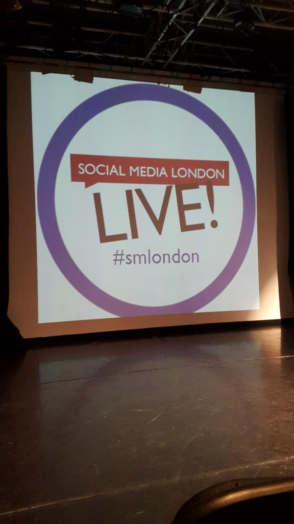 Ready for #smlondon! Can't wait for @javierburon ;) http://t.co/ZfMvdZLDlA