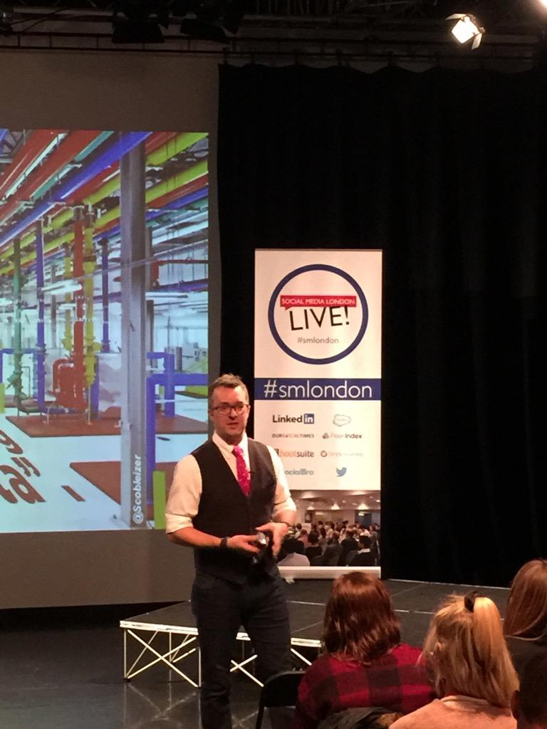 What's today's challenge? Tell the story in 5 seconds @jeremywaite #smlondon #speed http://t.co/AxtY0vAees