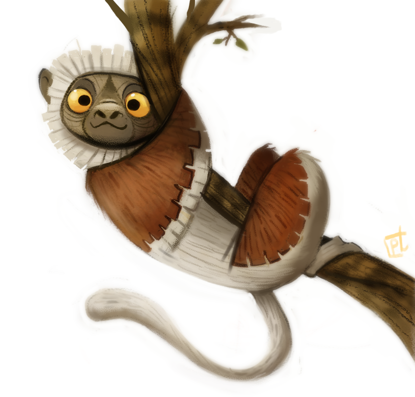 Daily Painting 723# Zoboomafoo  Sad to hear that he passed away :/ http://t.co/mVO8yDyBAx