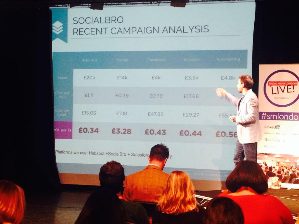@javierburon figures never lie!  #smlondon http://t.co/gZfse3lJt2