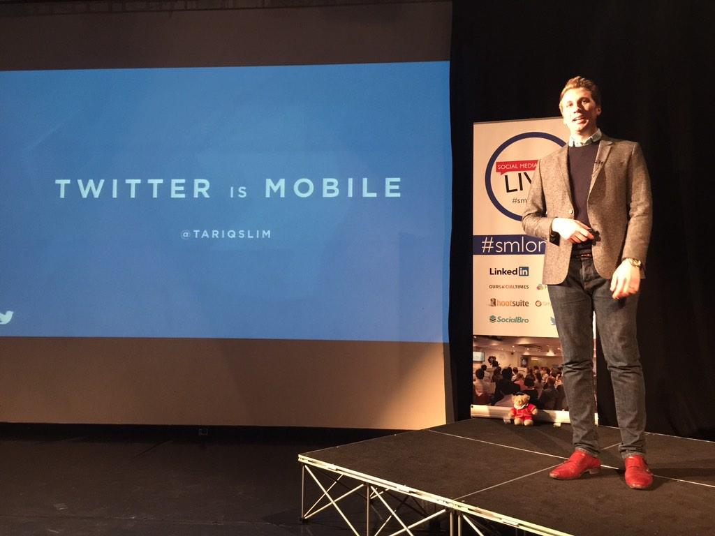 #smlondon and now @Twitter's @tariqslim is talking! http://t.co/WQBAytgg4K