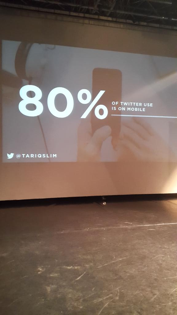 Mobile advertising is the way forward @tariqslim #smlondon http://t.co/NFAnXqCm24
