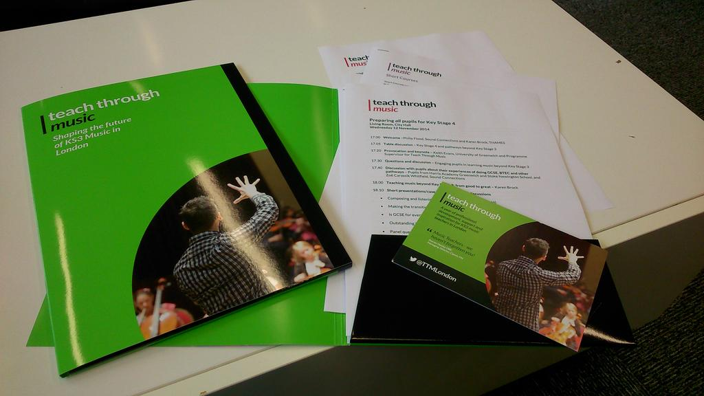 Delegate packs all set for 'Preparing all pupils for KS4'- tonight's #InspireEvent. Only a few places left, book now! http://t.co/uEeNaNLVnO