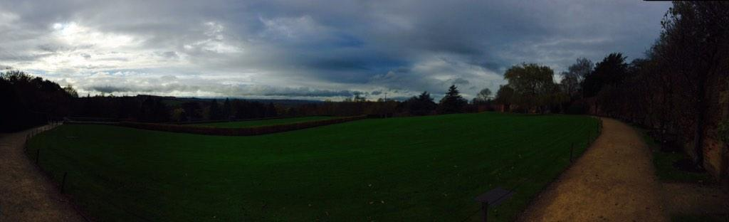 What a view @YSPsculpture #engageconf14 http://t.co/mvCLMvrvcx