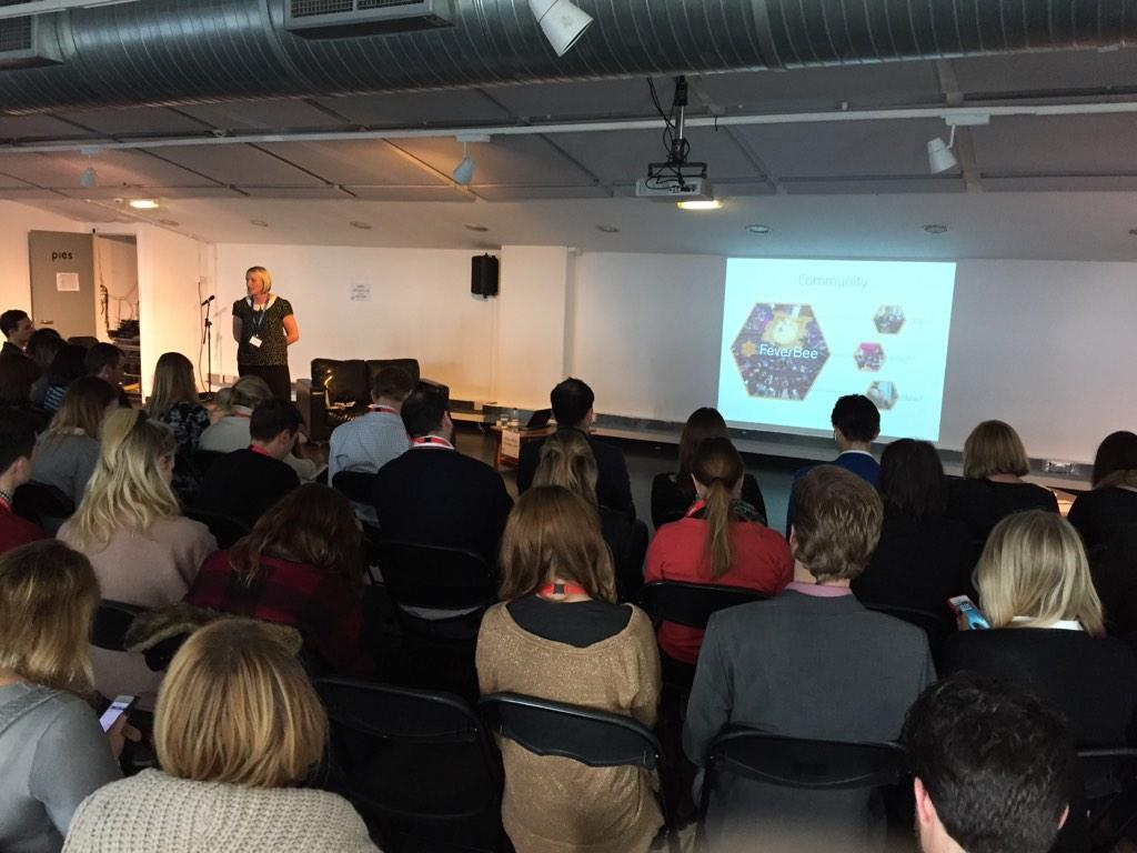 Community is so important- biggest track session yet with @nancykinder #smlondon http://t.co/jDVwUn66D8