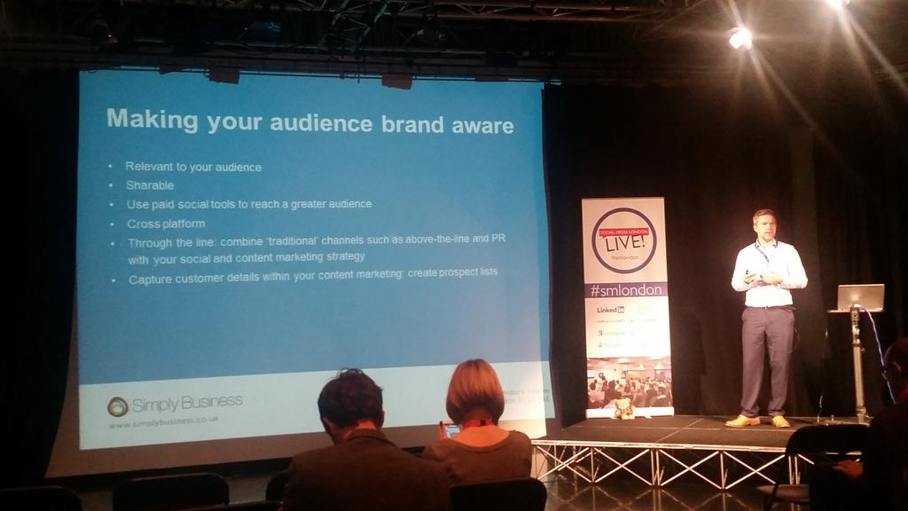 Very useful top tips from @jaspermartens #smlondon http://t.co/CFkawJPfzn