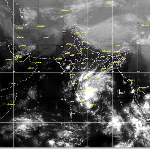 Prashanth Rangaswamy On Twitter Weather Map From Kalpana - Today satellite map