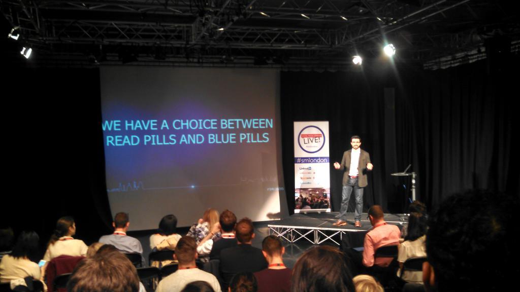 ".@JonLombardo, LinkedIn: ""Content marketing is a lot like the Matrix. You have to go down the rabbit hole."" #smlondon http://t.co/7v9MbX8azY"
