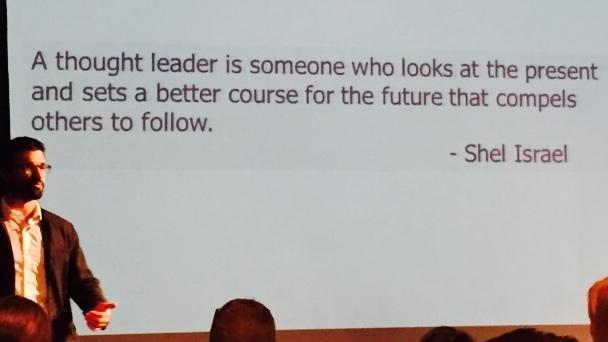 Defining thought leadership is hard. Most content ABOUT thought leadership doesn't even do it @JonLombardo #smlondon http://t.co/oABcFMWXi2