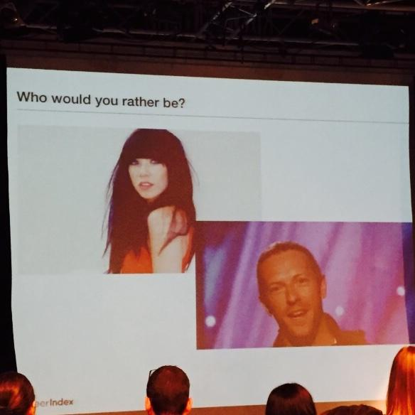 Ah... The biggest question of the day #smlondon @farhanlalji http://t.co/xfsBLGgaUd