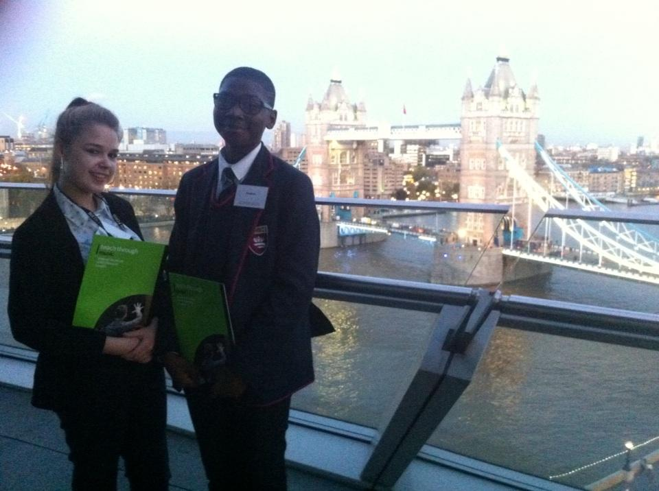 Two of our model students representing @HarrisGreenwich at City Hall for @TTMLondon. Looking forward to it! http://t.co/fyKM1nrNpo