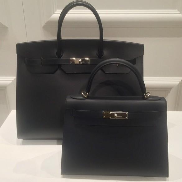 17c4fcbe7944 RT  MolestMeKardash  Hermès introduced the first totally matte black Birkin    Kelly bags with tonal stitchingpic.twitter.com BMKBi27kfK