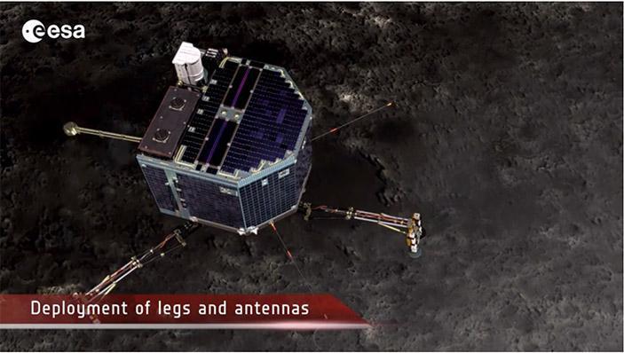 彗星への着陸に成功した「フィラエ」着陸機がどのようにランディングし、次にどんなミッションを遂行しようとしているかは、このムービーを見ると理解しやすいです。esa.int/spaceinvideos/… pic.twitter.com/SD1lg5jOkC