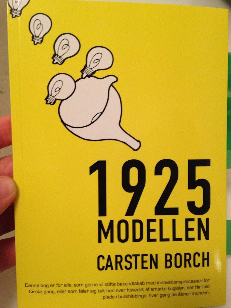 Tak @carstenborch for #1925modellen godt og enkel tilgang til #innovation #godbog #IkkeSpildAfPapir http://t.co/AA9B2sTHCz