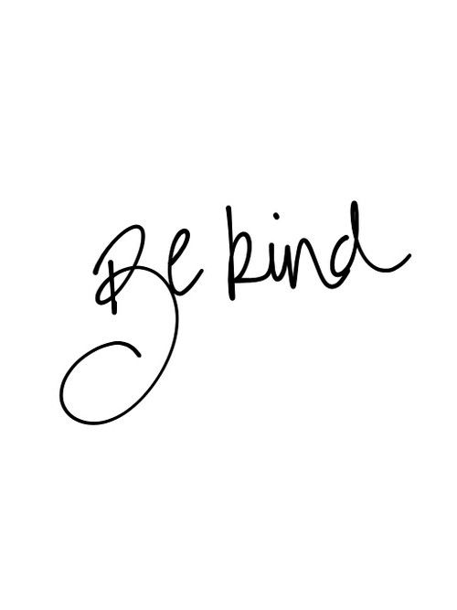 Today is 'World Kindness Day'. If you can't be kind, be quiet :) http://t.co/GEhIE3dttP