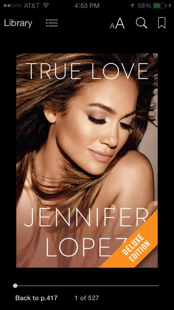 Whether male or female. This book you'll love it. Amazing for to discover your self inner love. Thank you @JLo http://t.co/czrHPHHrm9