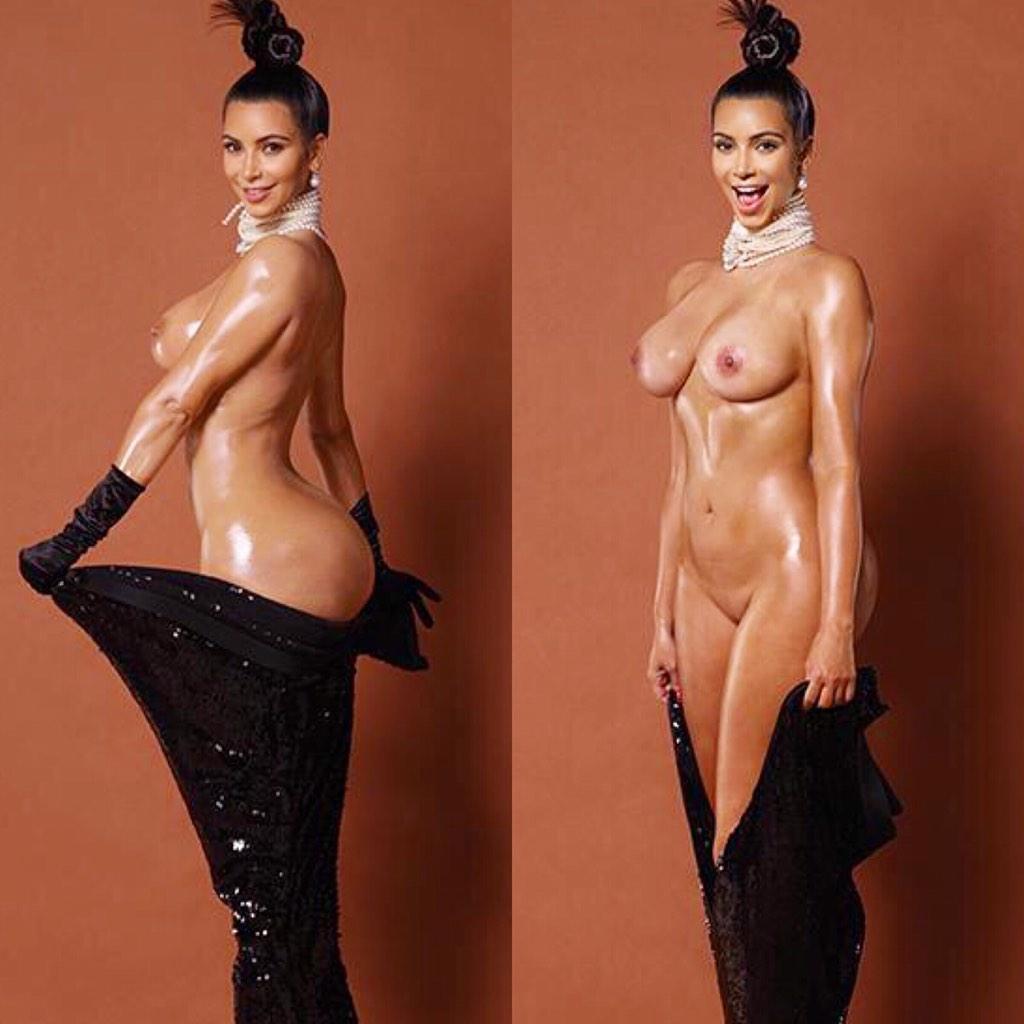Kim kardashian free naked