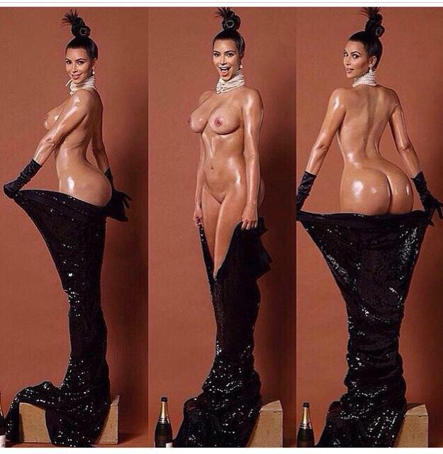 Nude picture kim kardashian