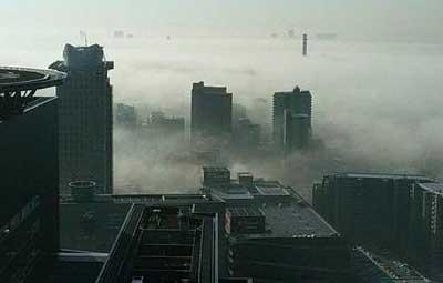 【放射霧】さいたまが霧でサイレントヒル状態! なんだか神秘的な雰囲気に blog.esuteru.com/archives/79299… pic.twitter.com/hrHCHDPA0P