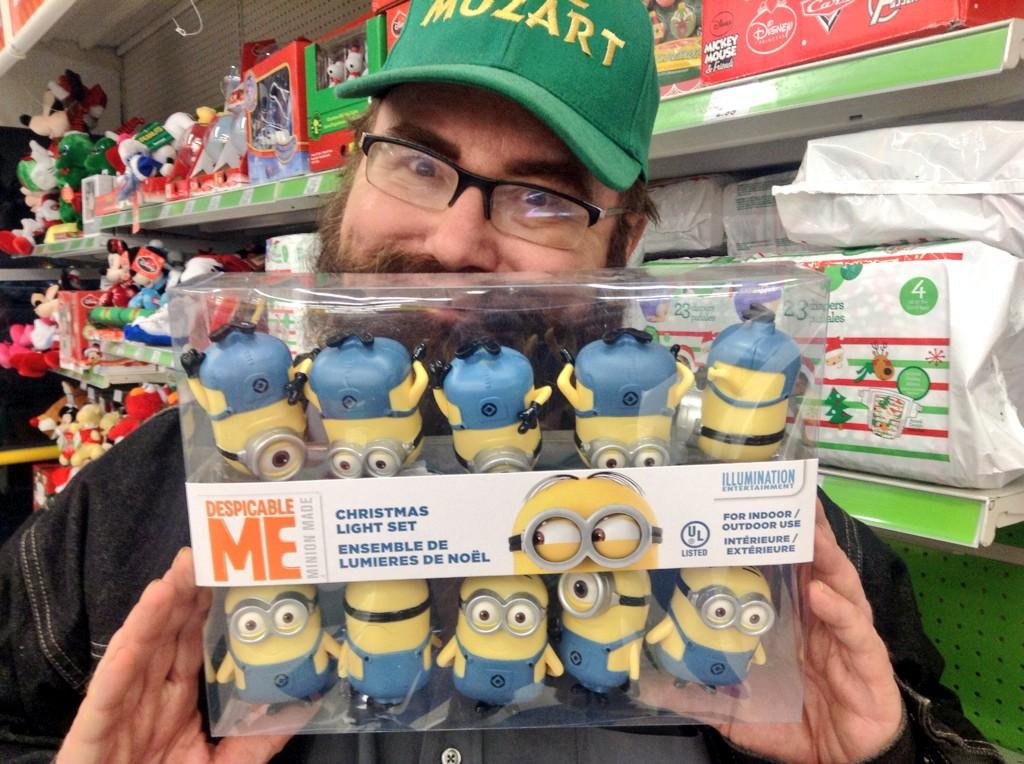 minion christmas tree lights toysrus just 1799 i bought last set at local store minions xmas christmas httptco3umhwq87p2