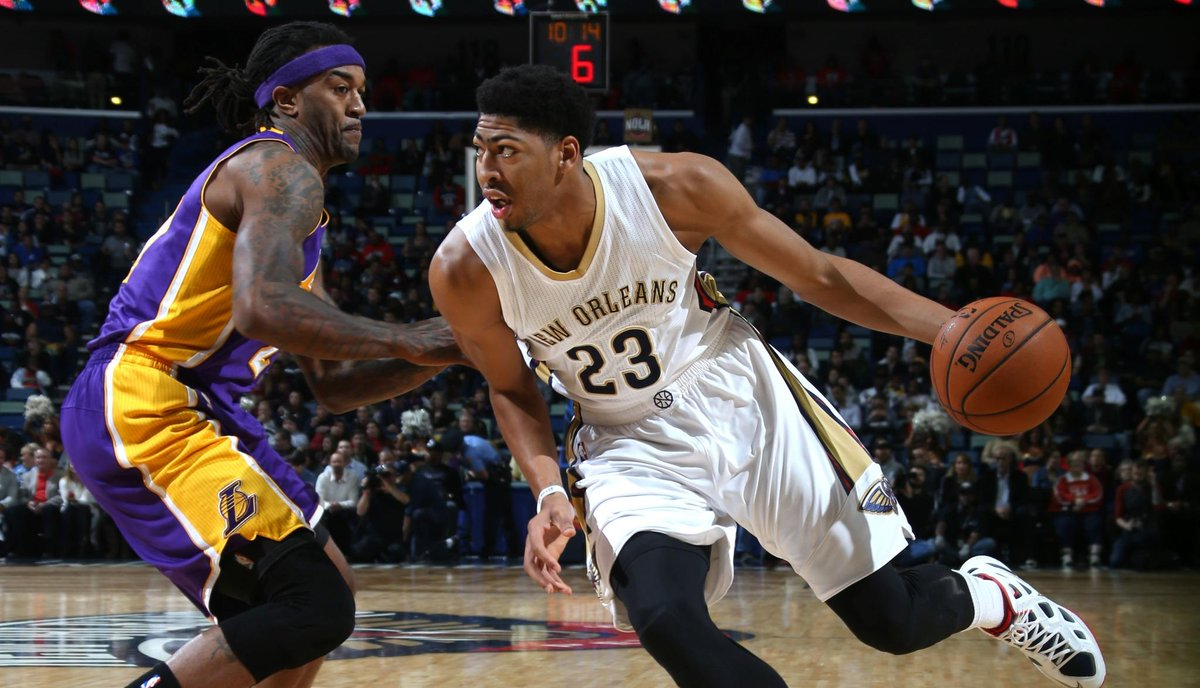 outlet store d9baf 2632d Anthony Davis: Anthony Davis with another monster game as ...