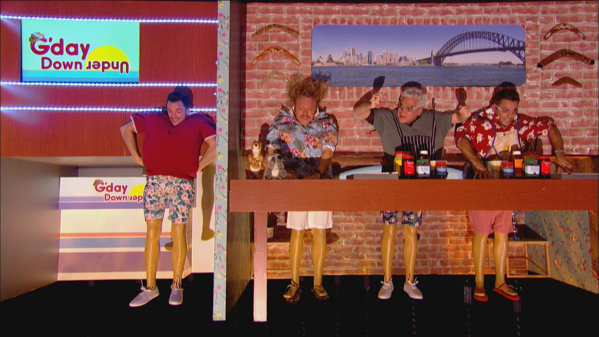 See Their Upside Down Antics Here Www Itv Com Celebrityjuice Video Ripper Gino And Phil Make A Pizza Down Under Pic Twitter Com Biqxurelkn