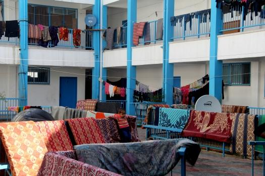 More than 30,000 people are still living in UNRWA schools in #Gaza. What does that look like? http://t.co/mjNwEJ12uO http://t.co/pFYJmmetjv
