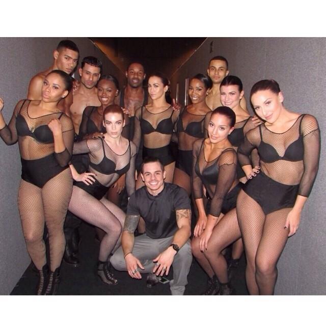 Unforgettable moments of MTV EMA - @BEAUcasperSMART fresh after #Anaconda performance