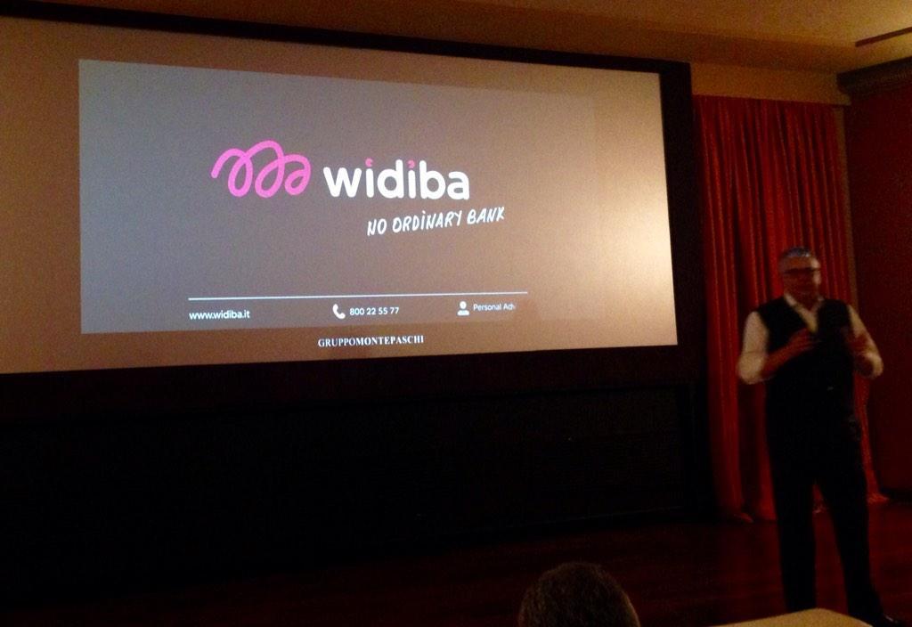 Carino il nuovo spot @widiba_tw che sarà in TV dal 16 nov Finalmente una #banca che fa la banca 😊 #widibaonair http://t.co/vQfSUe0gW9