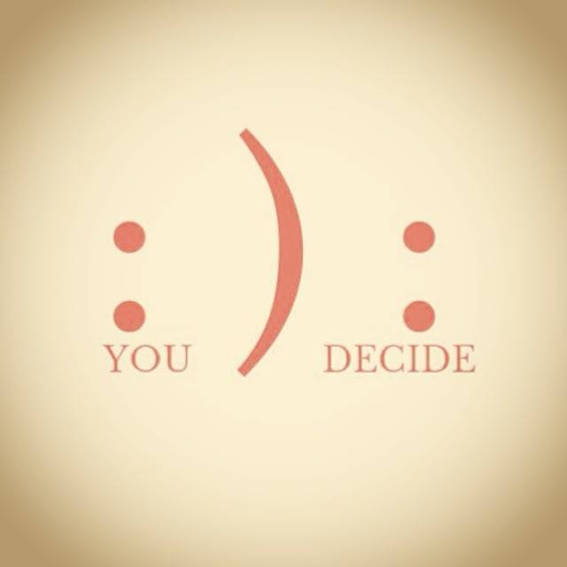 Everyday you make the #choice: http://t.co/IIAETT8wAO