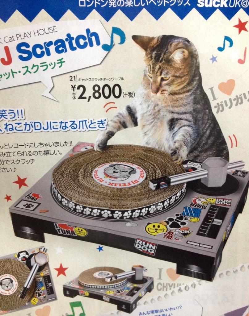 ニッセンでとんでもねぇ猫用爪研ぎ売ってた pic.twitter.com/aXNZDjXZBM