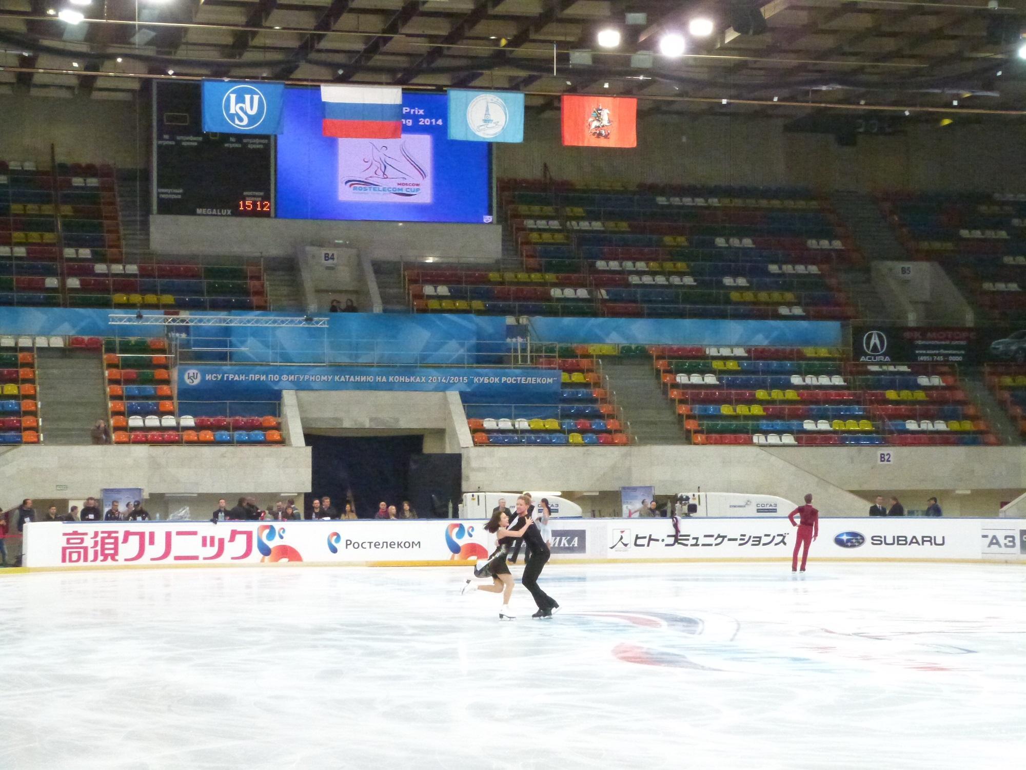 4 этап. ISU GP Rostelecom Cup 2014 14 - 16 Nov 2014 Moscow Russia-1-2 B2UjDG1CAAEDKoZ
