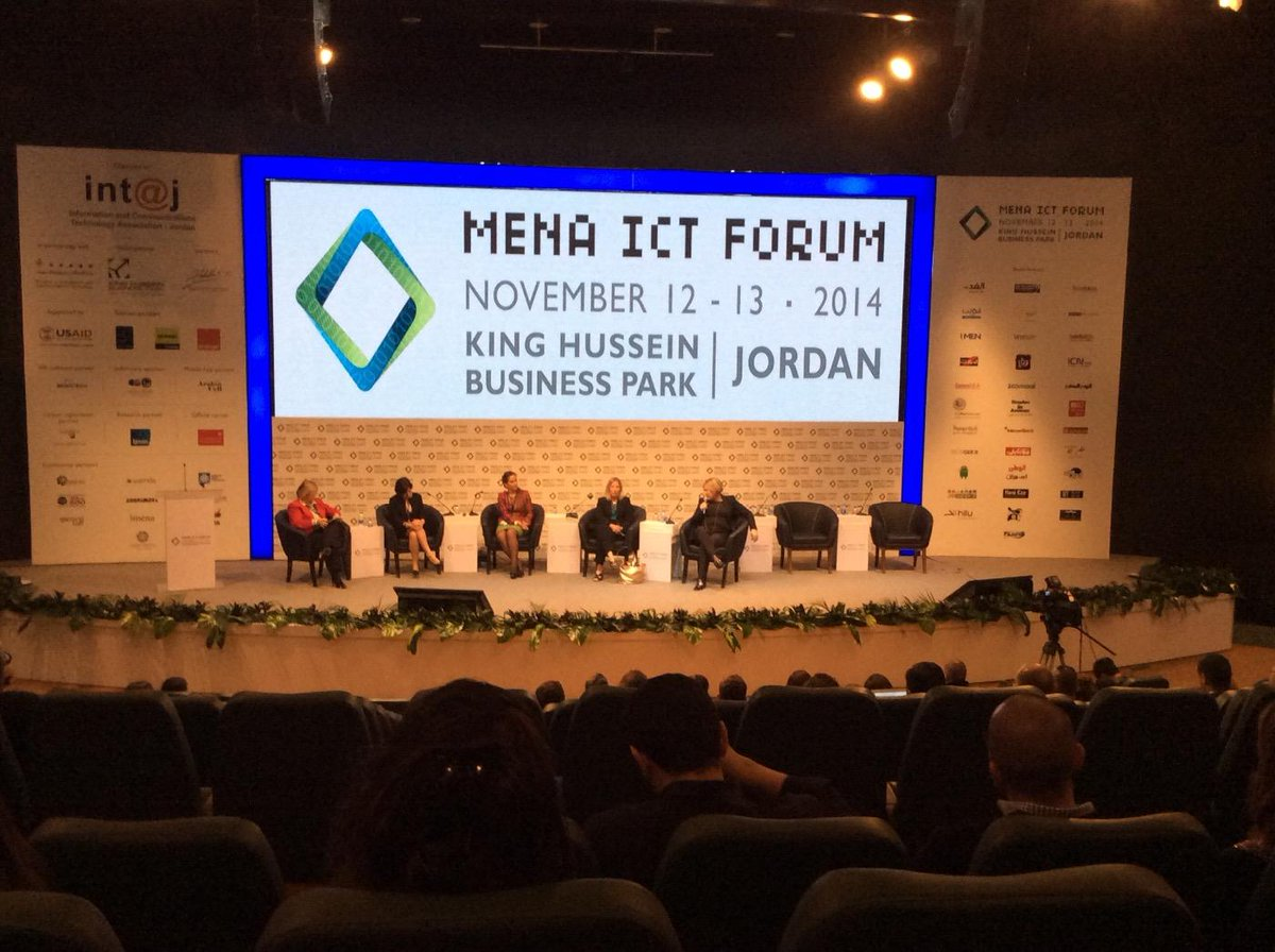 Panel discussion: How the entry of women angel investors will change the face of early-stage funding. #MENAICT14 #Jo http://t.co/osnKF9blcl