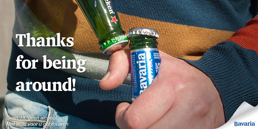 We love you @Heineken, seriously. #WorldKindnessDay http://t.co/3TOLgBUUGr