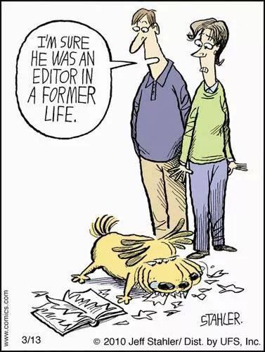 Seguro que fue #editor en una vida pasada #humor http://t.co/03yx2rsbAX
