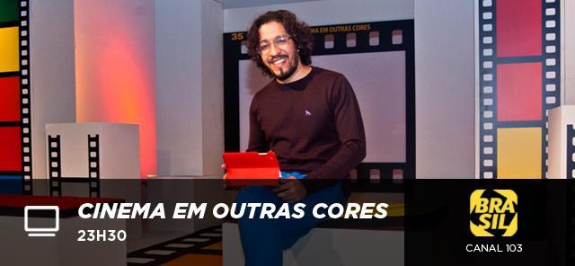 Hoje estreia Cinema em Outras Cores, com @jeanwyllys_real. Não perca, às 23h30, no @sigacanalbrasil (103). http://t.co/jJIcnhMSR2